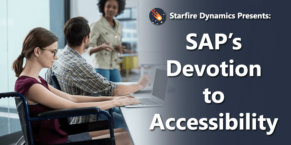SAP's Devotion to Accessibility